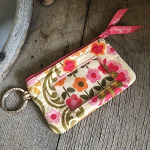 VERA BRADLEY/ small card wallet